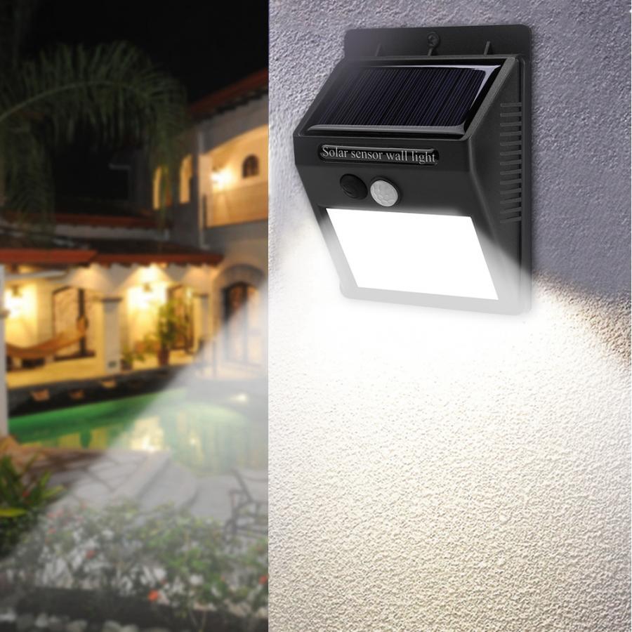 48LED Solar Lamp Human Body Sensor Motion Detection Outdoor Waterproof White Light solar outdoor light