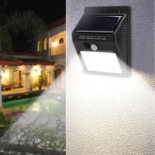 48LED Solar Lamp Human Body Sensor Motion Detection Outdoor Waterproof White Light solar outdoor light