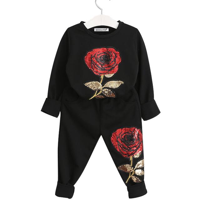 Warm Clothing Set for Girls