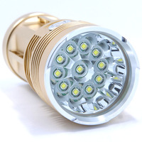 New Brightest LED Flashlight Portable Torch 22000LM Super Bright 11 X XM L T6 LED Hunting