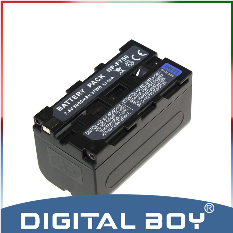 Digital boy High capacity NP-F750 NP F750 F730 F770 Battery for Sony NP-F770 CCD-TRV58 TRV110K TRV26E HVR-Z1 V1J z1