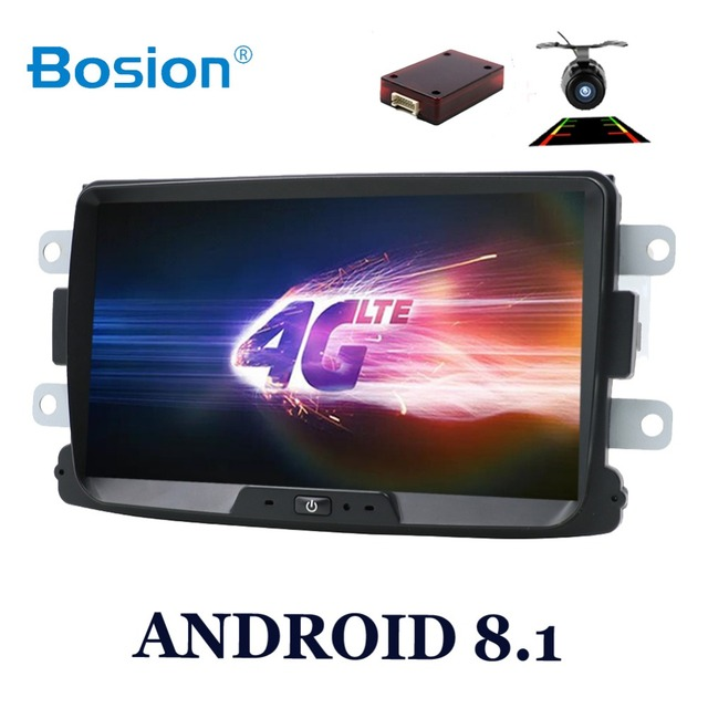 Octa core Android 8.1 car multimedia GPS For Dacia Sandero Duster Renault Captur Lada Xray 2 Logan 2 Dokker Lodgy 2012-2017 WIFI
