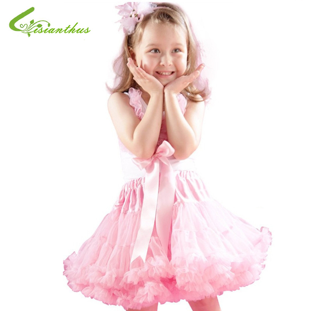 Baby Girls Chiffon Fluffy Pettiskirts Tutu Skirts Kids Girl Princess Skirt Summer Clothes Children Clothing Free Drop Shipping
