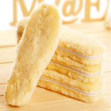 high quality winter thick velvet warm insoles imitation wool sweat absorbant breathable thermal male ms snow