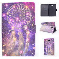 Ultra Slim Print Stand PU Leather Magnetic Cover Protective Case For Samsung Galaxy Tab A 10