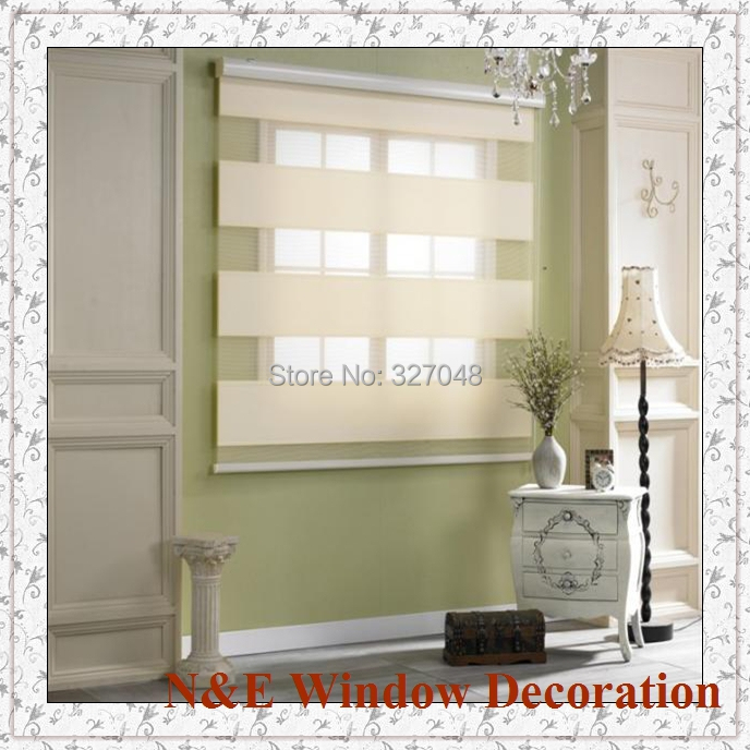 Free Shipping Window Blinds Zebra Roller Blinds Shades And Waterproof  Bathroom Window Curtain For Living Room In Blinds, Shades U0026 Shutters From  Home ...