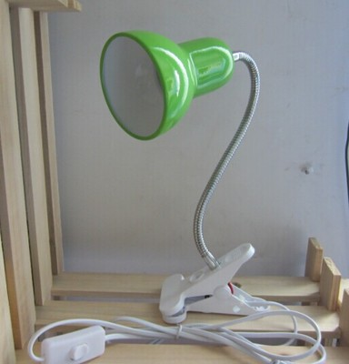Portable New Flexible E27 Universal Led Light Lamp Stand With Holding Clip On Off Switch Us Eu
