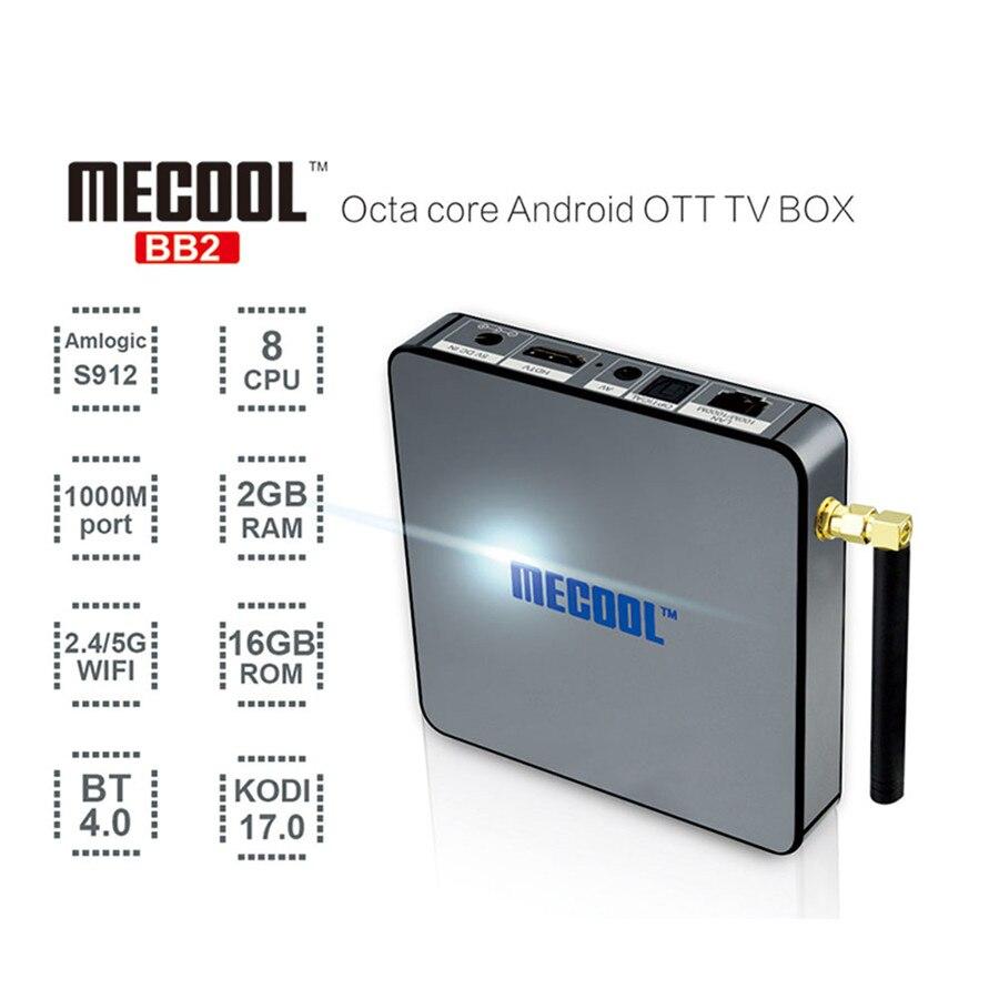 ФОТО BB2 Octa Core Amlogic S912 Android TV Box 6.0 2G/16G 2.4G/5GHz Dual WIFI Gigabit LAN BT4.0 KODI 4K Media Player DLNA Set Top Box