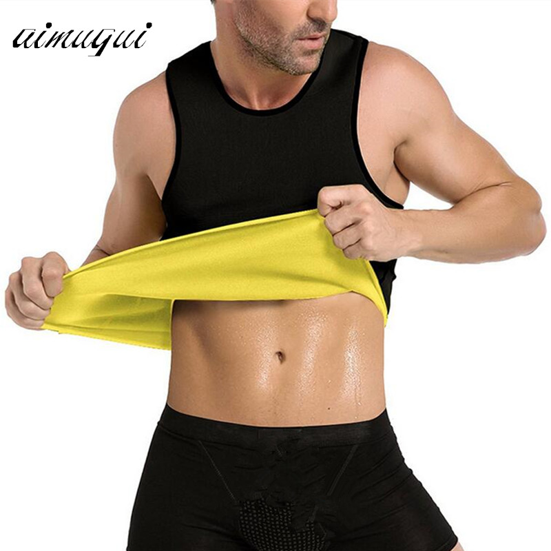 S- 5XL Body Shaper Slimming Belt Belly Men Slimming Vest Waist Sweat Corset Neoprene Abdomen Fat Burning Weight Loss Shaperwear ...