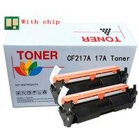 2PK Vervangende Toner Cartridge Voor Hp CF217A 17A 217A Laserjet Pro M102w M102a Mfp M130a M130fn M130fw M130nw
