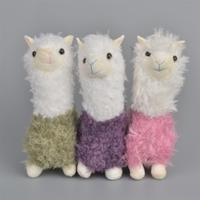 Kawaii Alpaca Plush Doll Toys Cute Llama Alpacasso Stuffed Toys Japanese Stuffed Animals Doll Children Kids