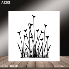 AZSG Trumpet grass Clear Stamps/Stamp/For Scrapooking/Card Making/Silicone Stamps/Decoration  Crafts