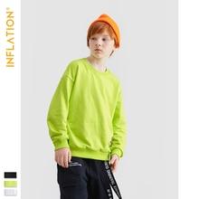 INFLATION KIDS Long Sleeve Sweatshirts Thin Hoodies Autumn Pullover Cotton Sweatshirt Children Kids Clothes 4-10T 19506A