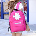 2017 New Preppy Style Character Printing Women Backpacks Canvas Backpacks For Girl Casual Travel Women School Bag