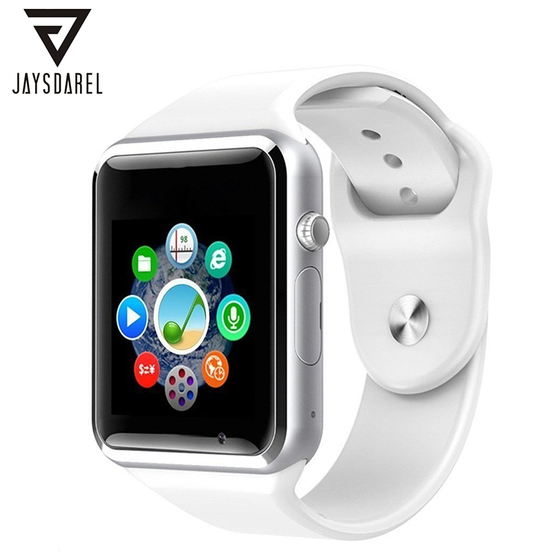 A1 Smart Watch apoyo SIM TF tarjeta deporte podómetro Cámara bluethooth fitness Tracker smartwatch para Android IOS PK GT08 DZ09