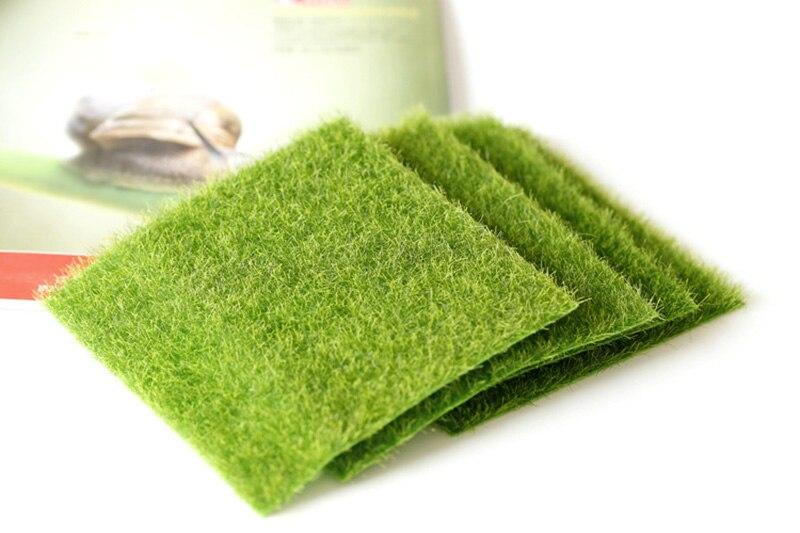 Flone Artificial PVC Grass Lawn False Moss Fake Turf Micro Landscape Decoration Accessories Home Living Room Decoration (5)