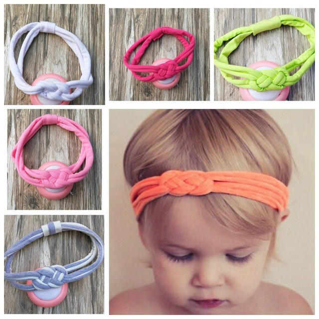 New cotton Sailor Knot turban headband stripe head wraps girl cute headwrap  knit Twist Knotted Turban Twisted FD6556 45cf2ebdd8c