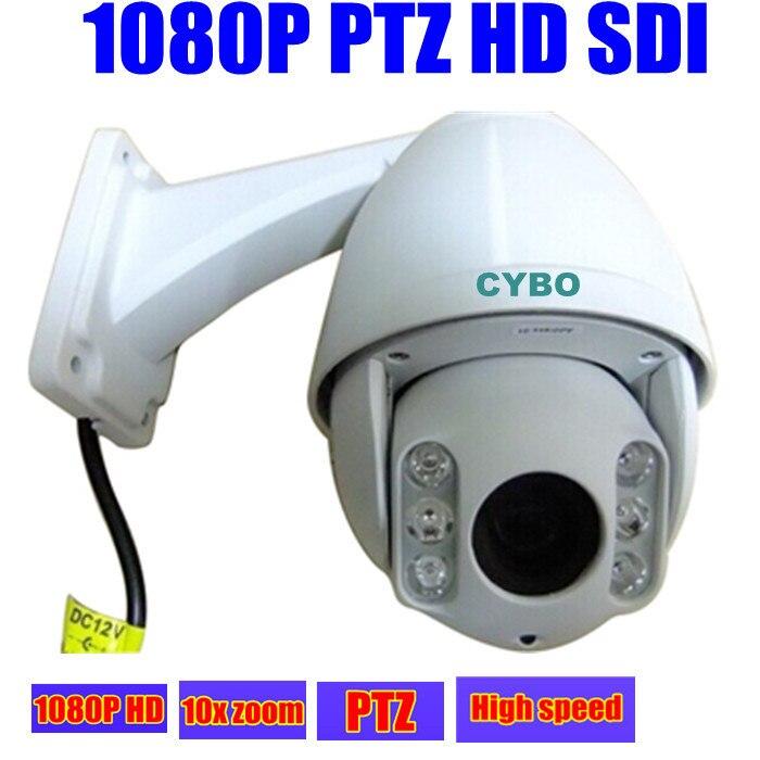 2mp HD SDI sony мини ptz камера системы безопасности 1080 P FULL HD Высокое скорость купол 10x зум Открытый 50 м ИК товары теле и видеонаблюдения ptz камера