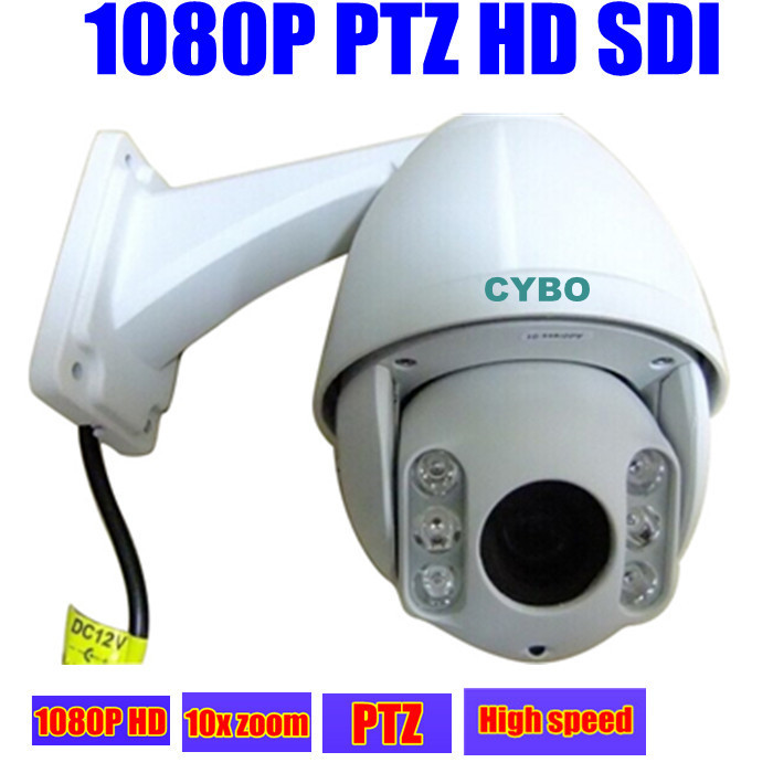 2mp HD SDI sony MINI PTZ Security Camera 1080P FULL HD high speed dome 10x zoom outdoor 50m ir video surveillance ptz camera