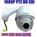 2mp HD SDI sony MINI PTZ Security Camera 1080P FULL HD high speed dome 10x zoom outdoor 50m ir video surveillance ptz camera