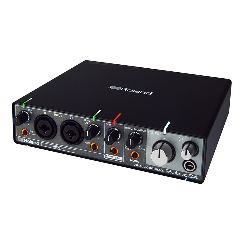 roland rubix24 2 in 4 out usb external sound card professional recording audio interface high. Black Bedroom Furniture Sets. Home Design Ideas