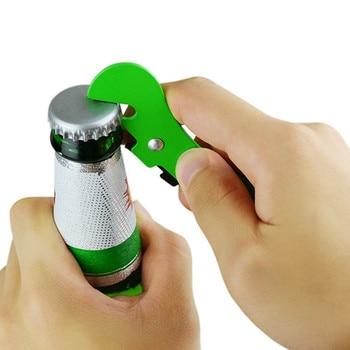 100pcs Economic Cooking tools can opener multifunctional can opener beer bottle opener super good Jar Opener