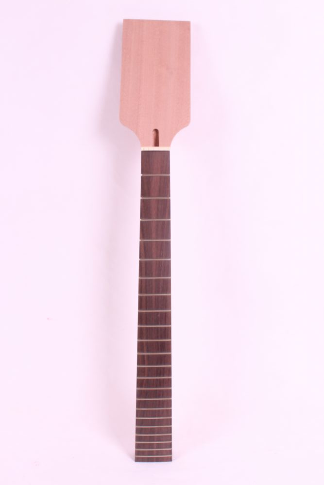 25.5one Bolt on 22 fret unfinished electric guitar neck mahogany made and rose wood fingerboard black color 24 frets holt on one electric guitar neck mahogany wood and rosewood fingerboard 171