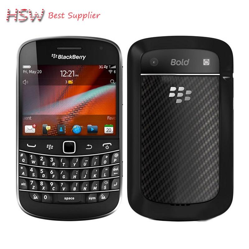 100 Original Blackberry 9900 Bold Touch Original unlocked 3G Smartphone QWERTY Touch screen 2 8 WiFi