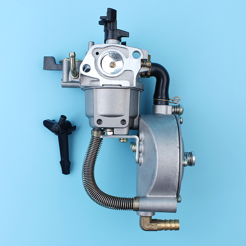 Carburetor Carb Conversion Kit For Honda GX160 GX200 5.5HP 6.5HP Chinese 168F 170F Engine Dual Fuel LPG/CNG NEW TYPE new design jiwannian lpg&cng carburetor three way conversion kit for gx160 gx200 engine petrol & liquefield dual fuel carburetor page 4