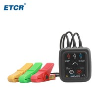 ETCR1000C 3 Phase Non contact Phase Sequence Detection Phase Detector Meter,Phase Rotation Monitor Meter