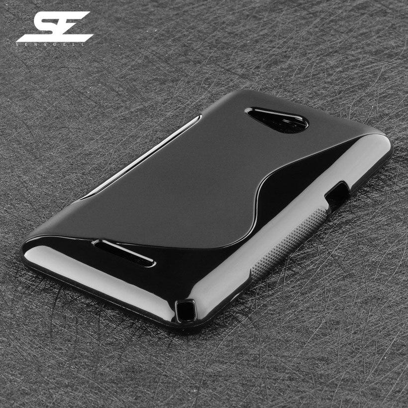 SENSUELL Mobile Phone Case For Sony Xperia E4G E2043 Cases Cover E2006 4.7 inch Dual Sim E2033 E2003 E2053 Silicon Shell