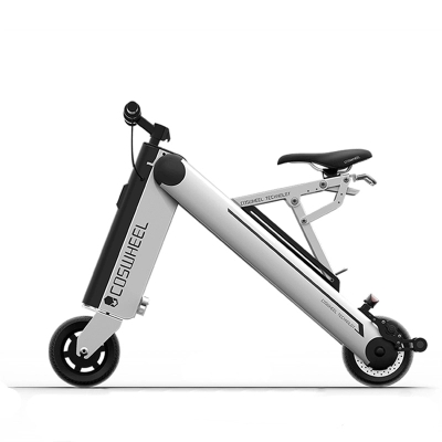 COSWHEEL One second Folding electric vehicle Mini battery car,electric scooter Intelligent adult lithium battery bicycle 35km/h