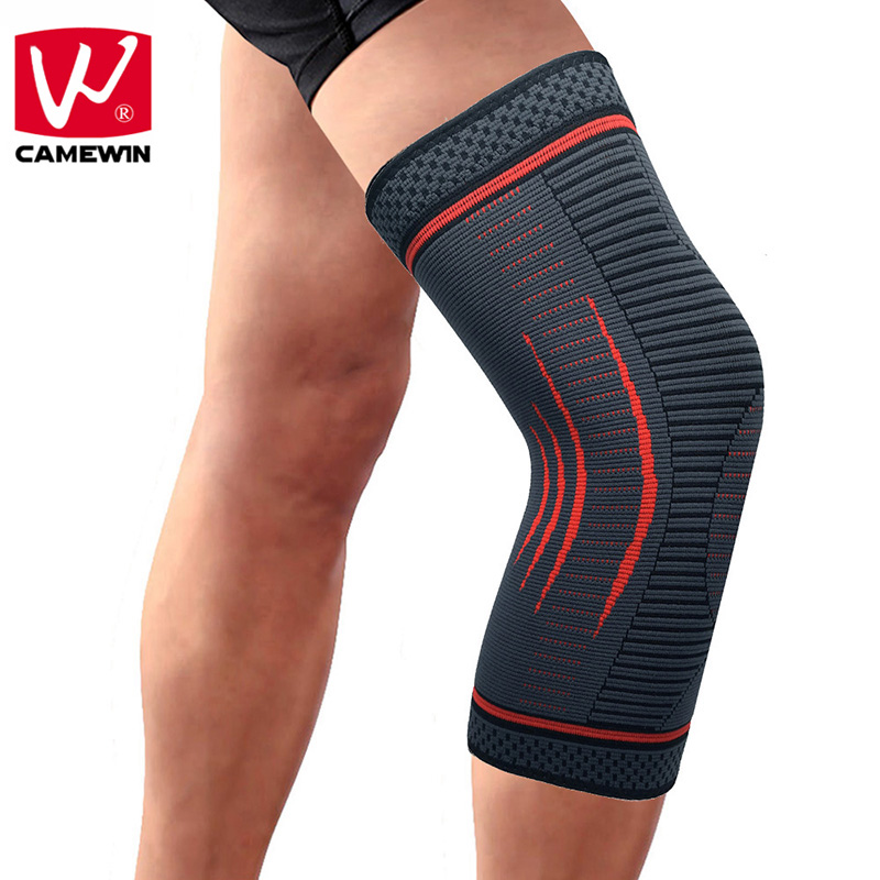 CAMEWIN 1 PCS Knee Pads Knee Protector for Joint Pain and Arthritis Relief-Effective Support for Running ,Jogging,Workout,Hiking camewin 1 pcs knee brace knee support for running arthritis meniscus tear sports joint pain relief and injury recovery