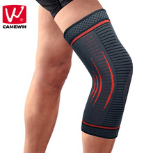 CAMEWIN 1 PCS Knee Pads Knee Protector for Joint Pain and Arthritis Relief-Effective Support for Running ,Jogging,Workout,Hiking