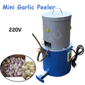 Мини-Чеснок пилинг машина 220V 150W чеснок овощечистка 18 кг/ч машина для удаления кожи чеснока