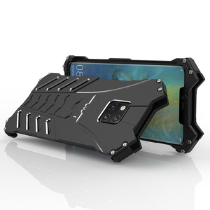 Image 3 - Luksusowe Heavy Duty BATMAN Metal aluminium telefon etui na Huawei Mate 20 x Mate 20 P20 Pro Nova 3 4 V20 mate 20 Lite pokrywa