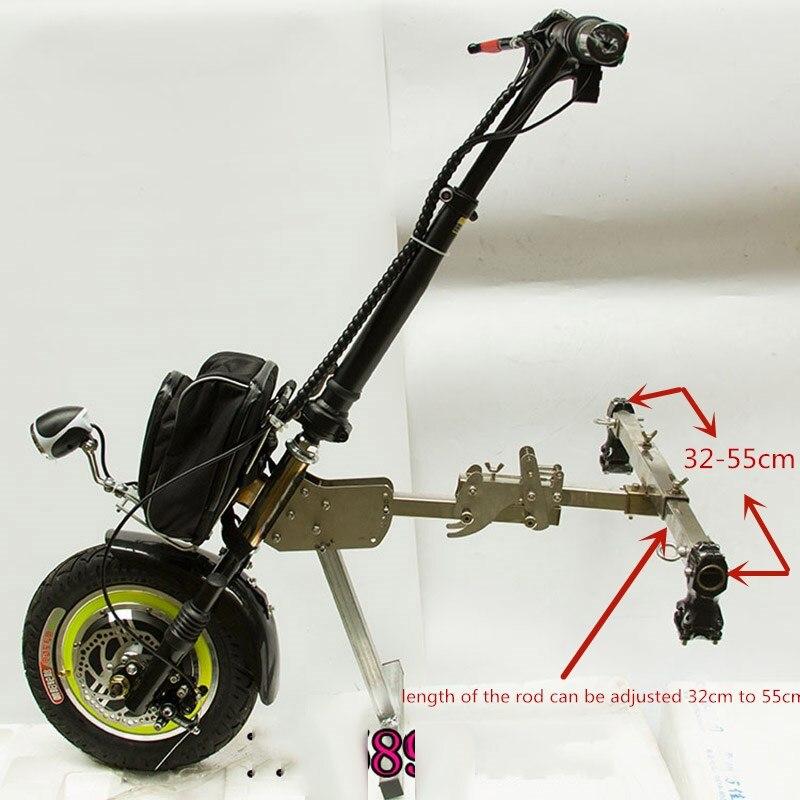 36 V 48 V 350 W kit de Conversion de fauteuil roulant pliant électrique
