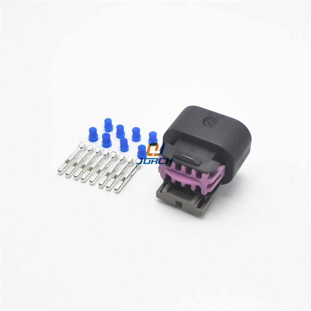 hight resolution of 5 sets 8 pin 1 5 series delphi auto plastic housing plug connector electric wiring harness cable connectors 15326835 in connectors from lights lighting on