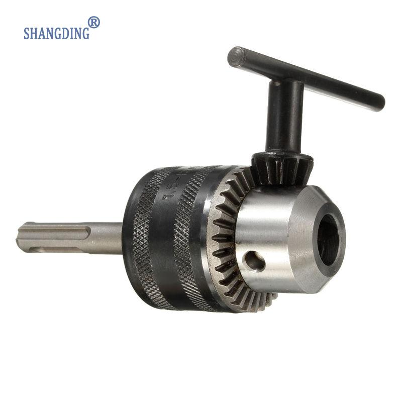 New Arrival 2-13mm 1/2-20 UNF Drill Chuck SDS Shaft Adaptor and Chuck Drills Clamping Best Price high quality 4 in 1 drill chuck key for drills drill presses sizes 6 9 10 13 mm universal fit new arrival
