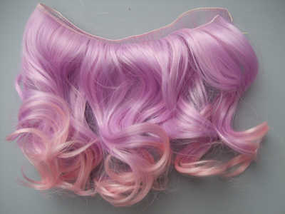 15 см Кудрявые Волнистые парики волосы для куклы Красный Белый Коричневый Черный цвет волосы натуральный цвет плетеные парики для BJD кукольные волосы