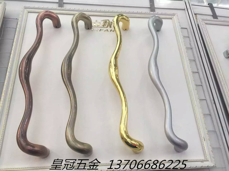The sliding door handle door handle handle modern kitchen 9864 Aluminum Alloy balcony door glass door handle heavy цены