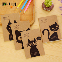 "1x ""Naughty little cat"" Portable Mini notebook diary cash book notepad kawaii stationery school supplies gift for kids papelaria"