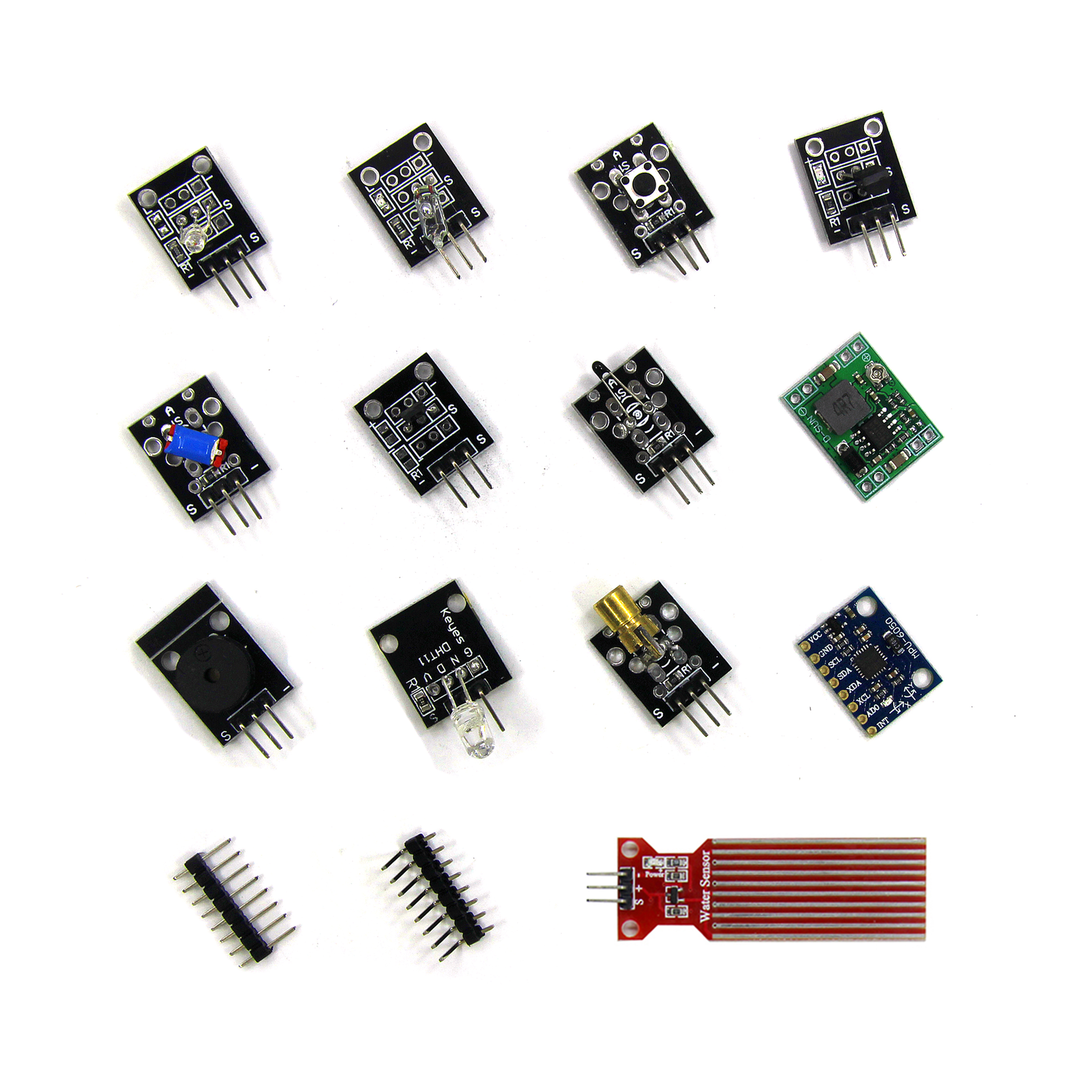 Smart Elektronik 45 in 1 Sensoren Module Besser Als 37in1 Sensor für arduino Diy Starter Kit