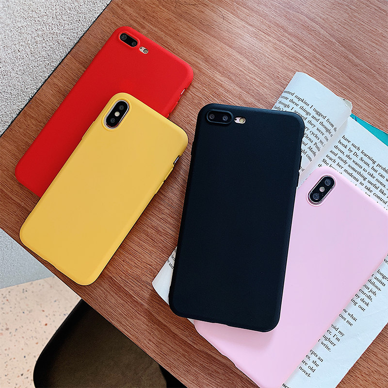 Matte Candy Color Silicone TPU Cases For Samsung Galaxy Cover  1