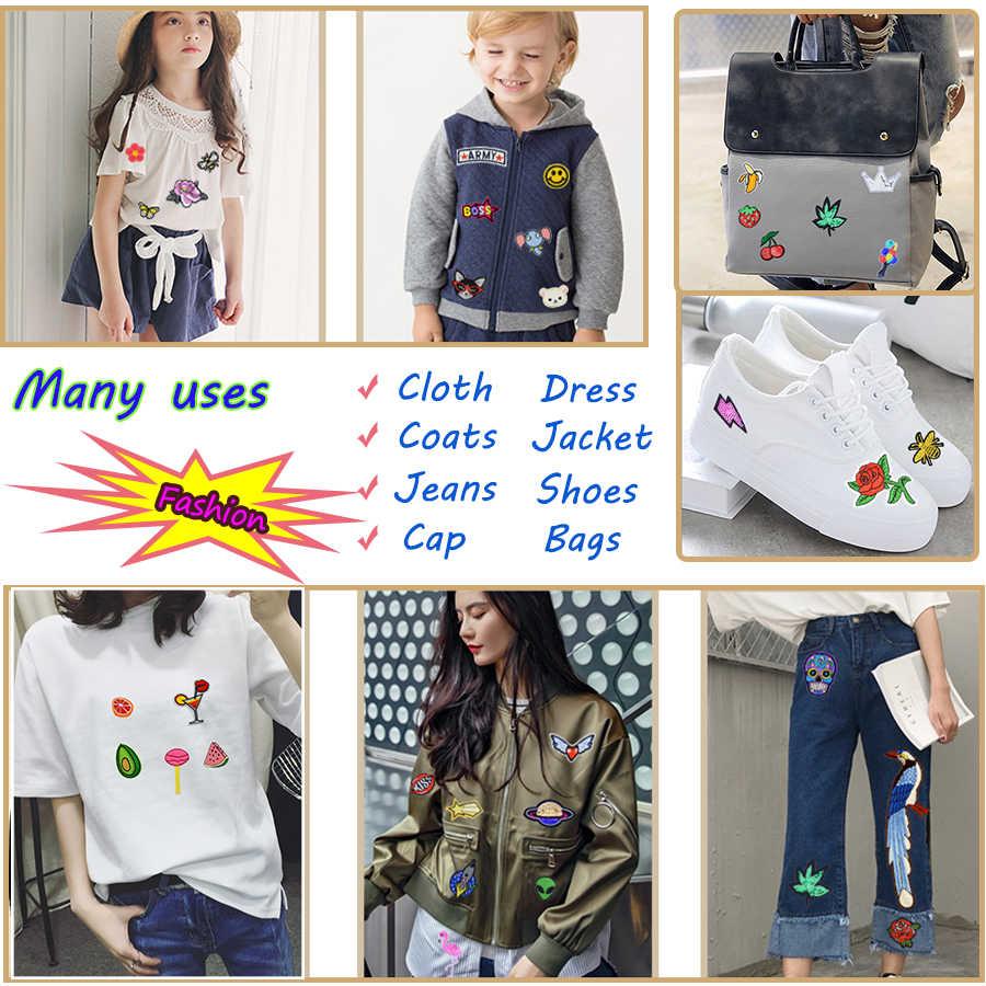 カスタムアクセサリーパッチのロゴ服鉄で転送アップリケパッチ服ジャケットためのパッチを刺繍 DIY