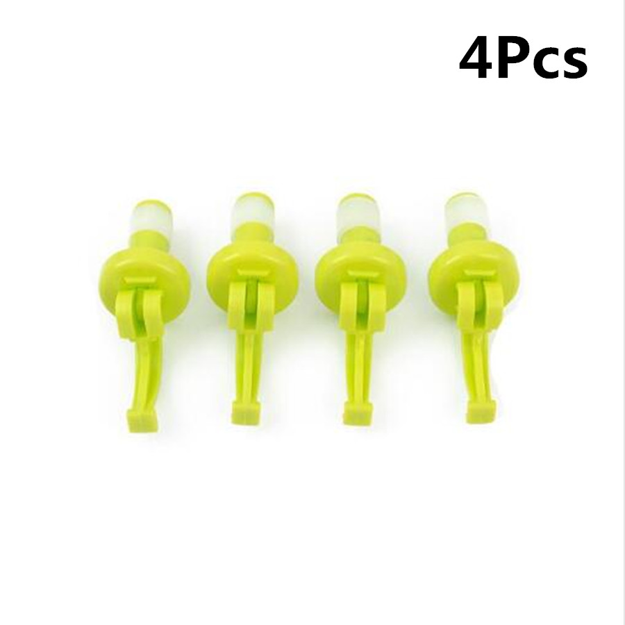 4Pcs set Novelty Silicone Wine Bottle Champagne Stoppers Beer Wine Cork Plug Bottle Cover Kitchen Bar Tool Beer Cap Seal Cover in Wine Stoppers from Home Garden