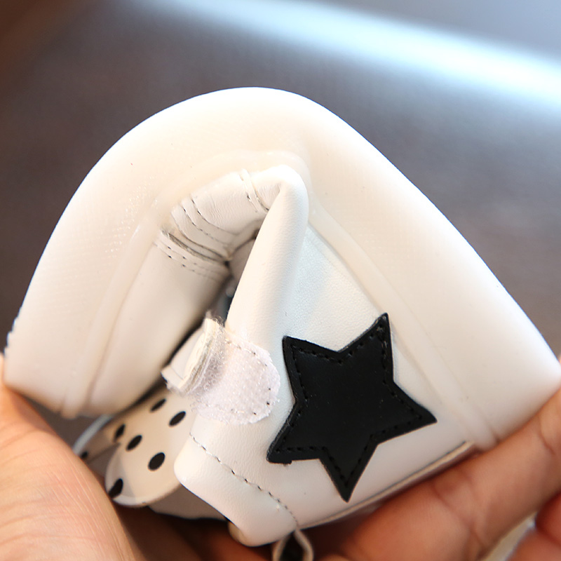 Baby Children LED Shoes Sport PU Leather Boys Girls Casual Kids Shoes Ears Pattern LED Light Luminous Sneakers