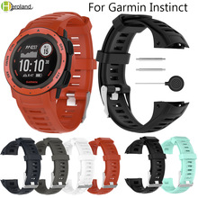 Quick Release 22mm Silicone Replacement Strap Watch Band for Garmin Instinct Wristband Smart Accessories