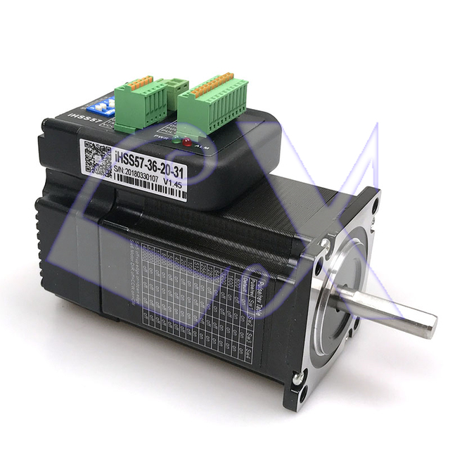 JMC iHSS57-36-20 NEMA23 2Nm 283oz.in Integrated Closed Loop Stepper motor driver 36VDC 2000rpm automation special use motor