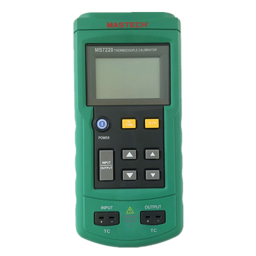 MASTECH MS7220 Portable Professional Thermocouple Calibrator Meter Temperature Calibrator Tester